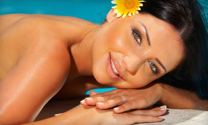 Custom Tan and Spa - Las Vegas: Three or Six Far Infrared Massage-Bed Sessions at Custom Tan and Spa