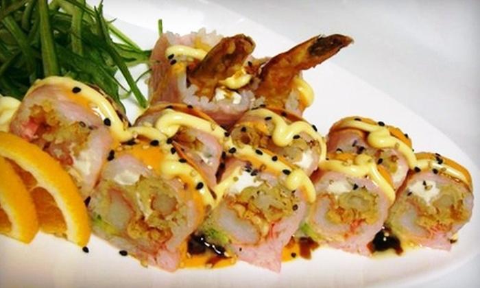 Fujiya House - Fredericksburg: $25 for $50 Worth of Sushi and Japanese Fare at Fujiya House in Fredericksburg
