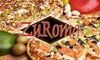 ZuRoma Sicilian Kitchen - Multiple Locations: $9 for $20 Worth of Pizza, Sandwiches, and Drinks at ZuRoma Sicilian Kitchen