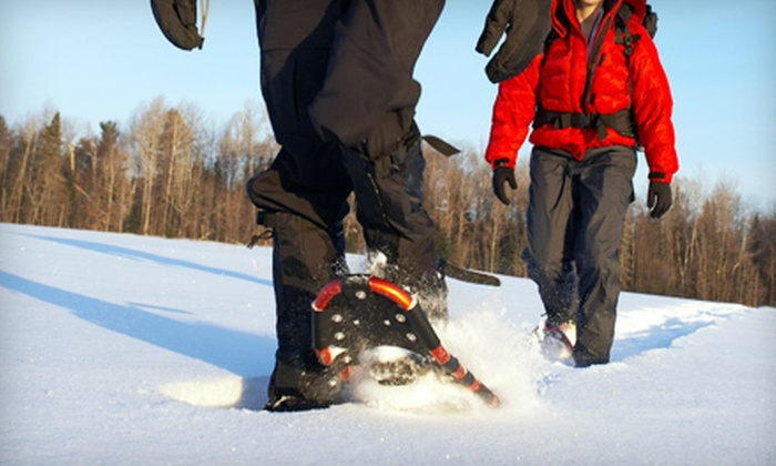 The Lakeside at Thorburn - Clarenville: $20 for a Snowshoe Rental and One-Day Activity Pass for Two at The Lakeside at Thorburn in Clarenville ($50 Value)