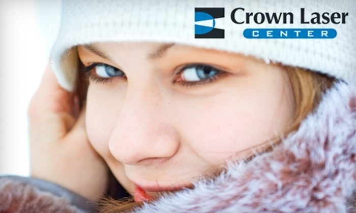 Crown Laser Center - Saint Louis: $2,600 for Bi-Lateral Custom LASIK Vision Correction at Crown Laser Center in Creve Coeur