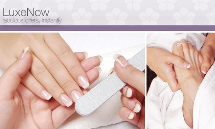 LuxeNow.com - New York City: $26 Mani-Pedi at Any of 52 LuxeNow Salons & Spas
