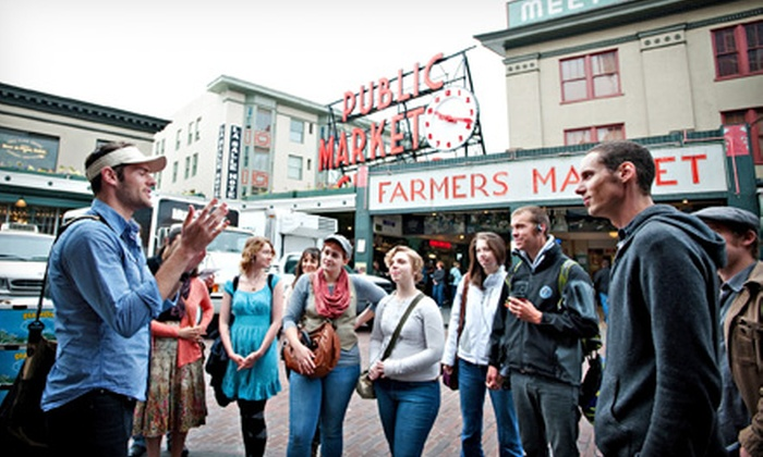 Public Market Tours - Seattle: Two or Four Tickets to a Historical Tour of Pike Place Market from Public Market Tours (Up to 50% Off)