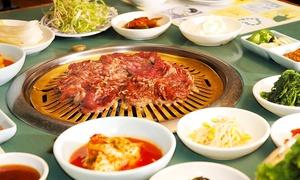 Chiba RAMEN Bordeaux: Barbecue coréen avec entrée, plat, dessert et café pour 2 ou 4 personnes dès 29,99 € au restaurant Chiba