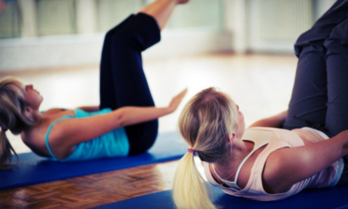 Legacy Pilates, Yoga & More - West Omaha: 5 or 10 Classes at Legacy Pilates, Yoga, Barre, Pole & More (Up to 70% Off)