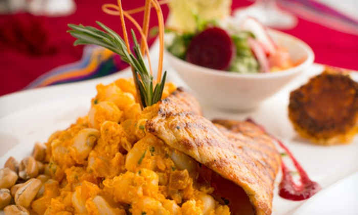 Sabor Latino - Elmhurst: Ecuadorian Cuisine at Sabor Latino (Half Off). Two Options Available.