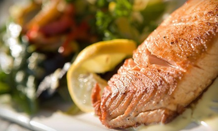 Snappers - Downtown Norfolk: $27 for a Seafood Meal for Two at Snappers (Up to $54.96 Value)