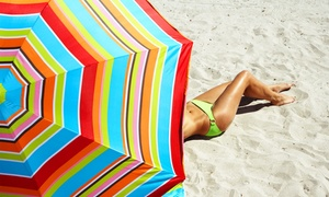 Hollywood Tans: Up to 63% Off 3, 5 or 6 Tanning Sessions at Hollywood Tans