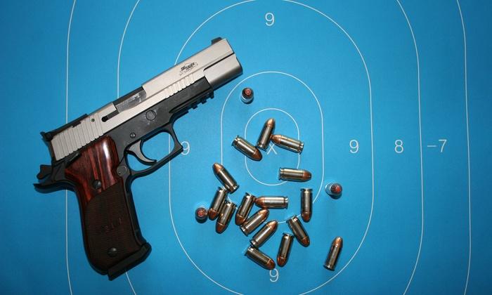 Elite Handgun Academy - North Dallas: Texas Concealed-Handgun License Course for One, Two, or Four at Elite Handgun Academy (Up to 65% Off)