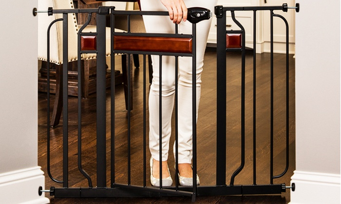 Regalo Home Accents Extra Wide Walk Thru Gate Groupon