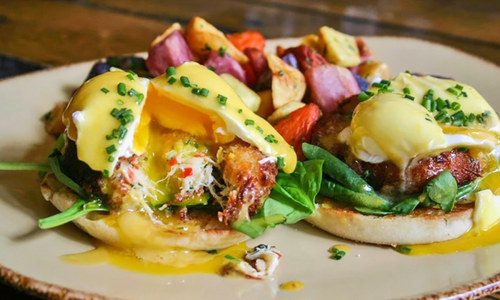Hubbard Inn - River North: Brunch for Two or Four with Cocktails at Hubbard Inn (Up to 44% Off)