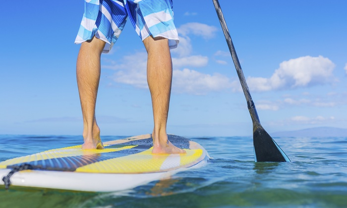 Issaquah Paddle Sports - Lake Sammamish State Park: Paddleboard or Kayak Rental from Issaquah Paddle Sports (Up to 64% Off). Four Options Available.