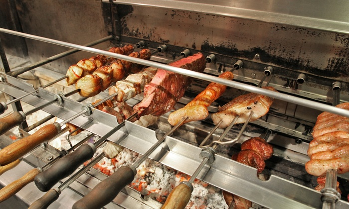 Rafain - Multiple Locations: $59 for a Brazilian Steakhouse Dinner for Two on Sunday–Thursday at Rafain ($93.98 Value)