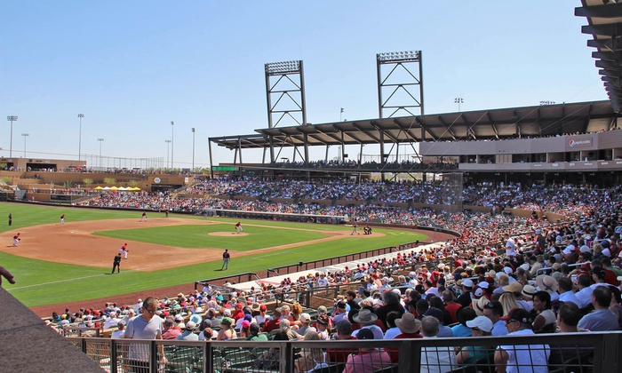 Larry Fitzgerald Celebrity Softball Game - Salt River Fields at Talking Stick: $20 for the Larry Fitzgerald Celebrity Softball Game for Two on Saturday, April 26, at 6 p.m. ($40 Value)