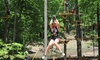 Grand Rapids Treetop Adventure Park - Grand Rapids Treetop Adventure Park: Treetop-Climbing and Ziplining Course for One or Two at Grand Rapids Treetop Adventure Park (Up to 26% Off)