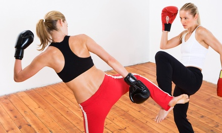 15 Boxing or Kickboxing Classes at Lionheart Fitness (48% Off)