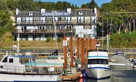 Groupon Deal: 1-, 2-, or 3-Night Stay with an Appetizer at The Harbor Lights Inn in Depoe Bay, OR