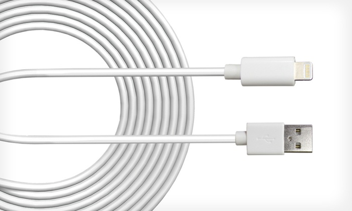Jivo 10-Foot Lightning to USB Power + Apple-Certified Sync Cable: $14.99 for a Jivo 10-Foot Lightning to USB Power + Sync Cable for Select Apple Devices ($29.99 List Price). Free Returns