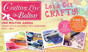 Craft Channel Productions: Crafting Live Bolton on 8 - 9 June at USN Bolton Arena (Up to 50% Off)