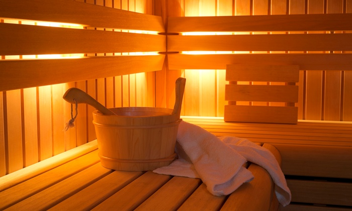 DeLuxe MedSpa - Roscoe Village: Three, Five, or Ten Infrared-Sauna Sessions with LED Face Treatment at DeLuxe MedSpa (Up to 71% Off)