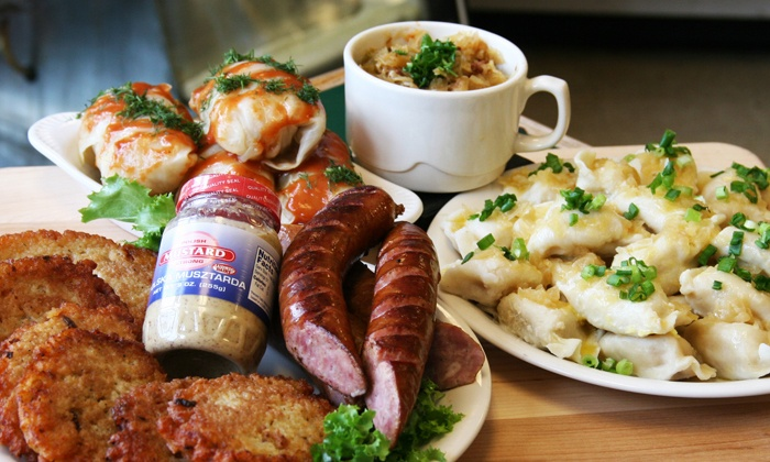 S & D Polish Deli: Sausage Pack or Polish Food at S&D Polish Deli (Up to 52% Off)
