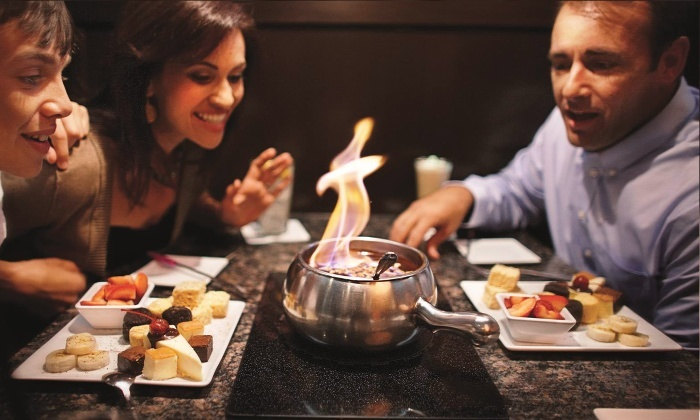 The Melting Pot - Warrington - Warrington: Dinner for Two with Appetizer, Salad, and Entrees at The Melting Pot (Up to 39% Off). Two Options Available.