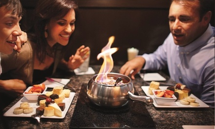 Dinner for Two with Appetizer, Salad, and Entrees at The Melting Pot (Up to 39% Off). Two Options Available.