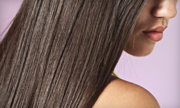 Niemann Perry Salon - Foxchase: One or Two Keratin Straightening Treatments at Niemann Perry Salon (Up to 70% Off)