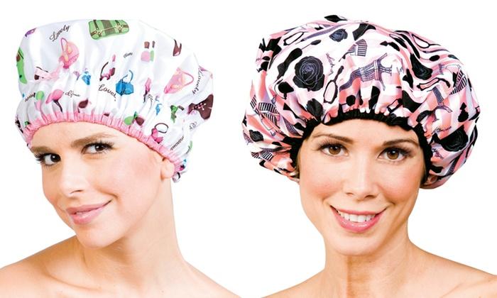 Lulu Beauty Premium Shower Caps: Lulu Beauty Premium Shower Cap. Multiple Styles Available. Free Returns.