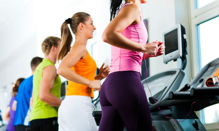 Chesapeake Health and Fitness Club - Deale: Gym Membership and Optional Spa Perks at Chesapeake Health and Fitness Club (Up to 85% Off). 4 Options Available.