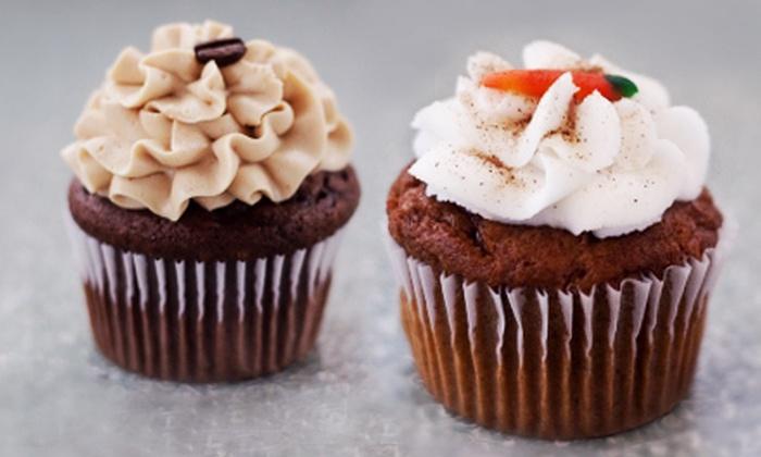 The Lofty Cupcake - Tallmadge: 12 Mini Cupcakes or 6, 12, or 24 Large Cupcakes at The Lofty Cupcake (Up to 58% Off)