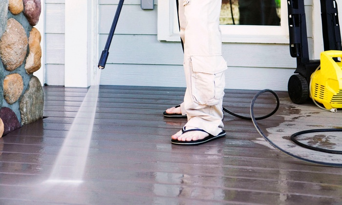 Xtreme Clean LLC - Indianapolis: Pressure Washing for a One- or Two-Story Building from Xtreme Clean LLC (Up to 51% Off)