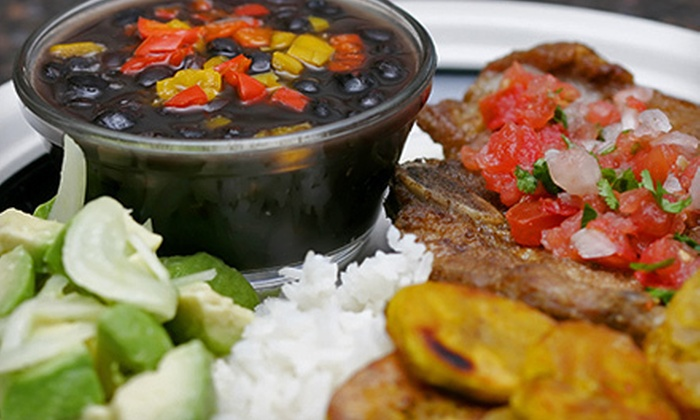 Mambo Grill & Tapas - Salisbury: Cuban Dinner with Appetizers and Entrees for Two or Four at Mambo Grill & Tapas (Up to 61% Off)
