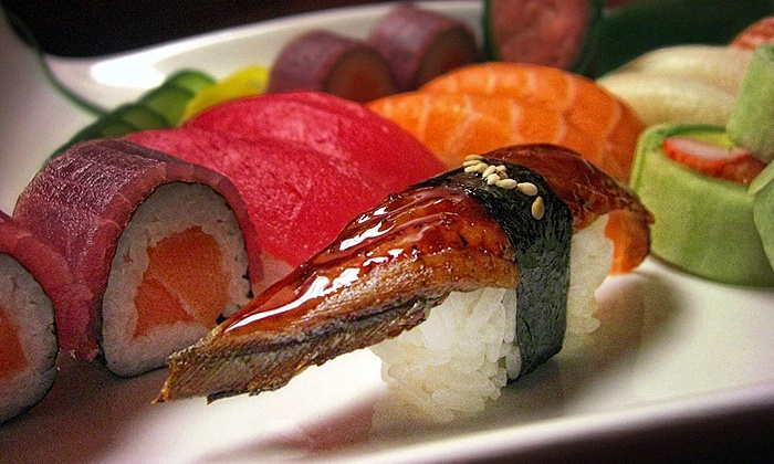 Mi Chi Bistro and Sushi - Suwanee: $26 for a Sushi Dinner for Two at Mi Chi Bistro and Sushi (Up to $46 Value)
