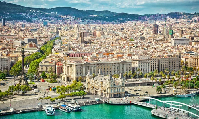 Spain Vacation with Round-Trip Airfare - Goose Island: Seven-Day Vacation with Round-Trip Airfare, 4-Star Accommodations, and Hop-On/Hop-Off Tours from Key Tours International