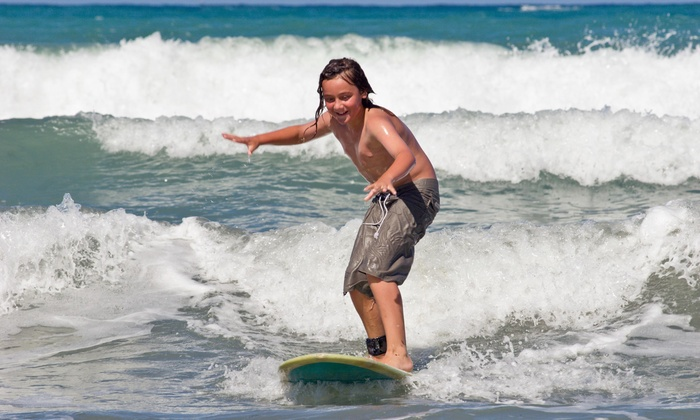 Up To 77 Off Surf Lessons At The Orange County School