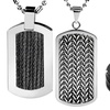 Men's Cable Inlay Rings, Pendants, and Bracelets