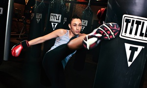 Title Boxing Club: Two Weeks of Unlimited Boxing and Kickboxing Classes with Hand Wraps at Title Boxing Club (Up to 60% Off)