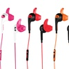 iHip Sweat-Resistant Sports Stereo Earbuds w/ Mic and Volume Control