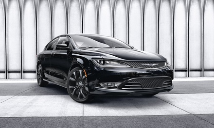 Enter to Win a 2015 Chrysler 200S