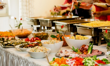 AllYouCanEat South Indian Buffet for Up to Four at Chennai Srilalitha Veg Restaurant