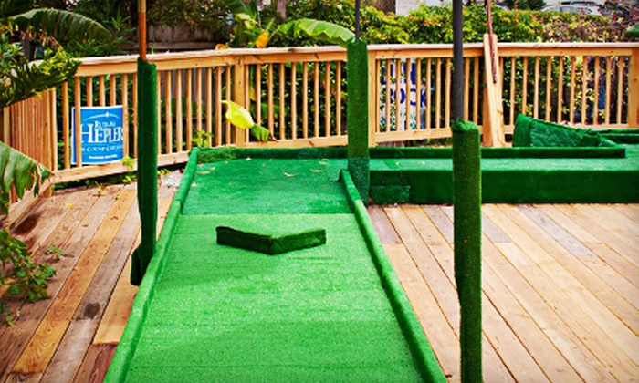 Putt N' Crawl - Downtown Jacksonville Course: Entry for One, Two, or Four to Putt N' Crawl Mini-Golf Bar Crawl on September 14 (52% Off)