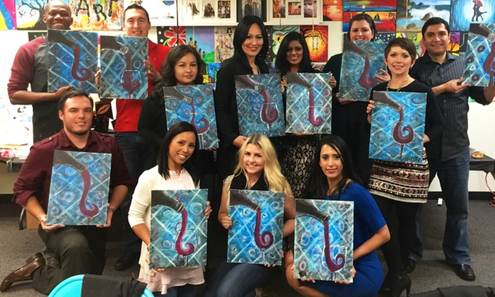 Just For Fun Art - Sacramento - North Natomas: $12 for $20 Toward a Painting Event for One at Just For Fun Art