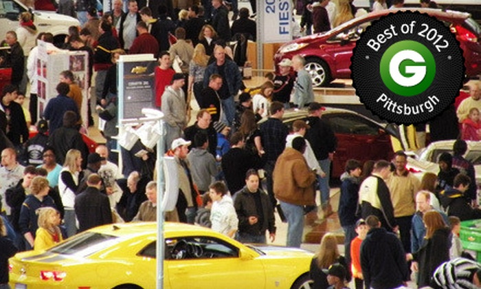 Pittsburgh International Auto Show - Downtown: $5 for the Pittsburgh International Auto Show (Up to $10 Value)