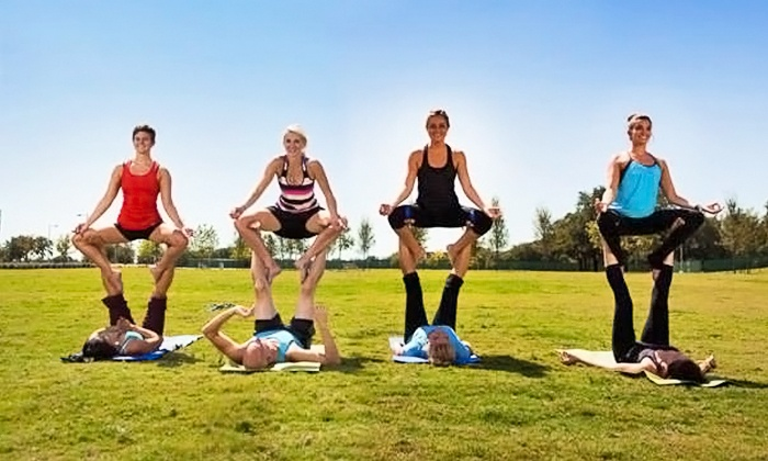 FXfit - The Domain: 10 Yoga Classes Or One Month of Unlimited Yoga Classes at FXfit (Up to 61% Off)