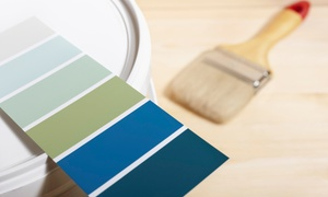 Benjamin Moore: 1 Gallon of Benjamin Moore Ultra Spec Zero VOC Flat or Eggshell Paint from Benjamin Moore (54% Off)