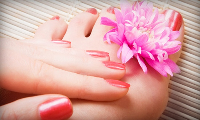 Waters of Hadassah Salon and Day Spa - Northwest Pensacola: Classic, Spa, or Deluxe Pedicure and a Classic Manicure at Waters of Hadassah Salon and Day Spa (Up to 54% Off)