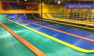 Jump USA: Jumping Sessions or Birthday Party Package for 10 at Jump USA (Up to 60% Off)