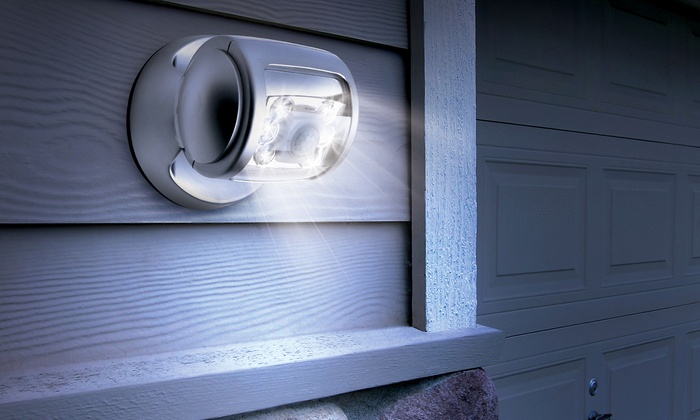 Motion Sensor Led Porch Light Groupon Goods