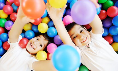 image for Soft Play: Entry For Two Kids With Drinks (£5) Or Ten Play Passes For One Child (£10) at Oceans of Fun